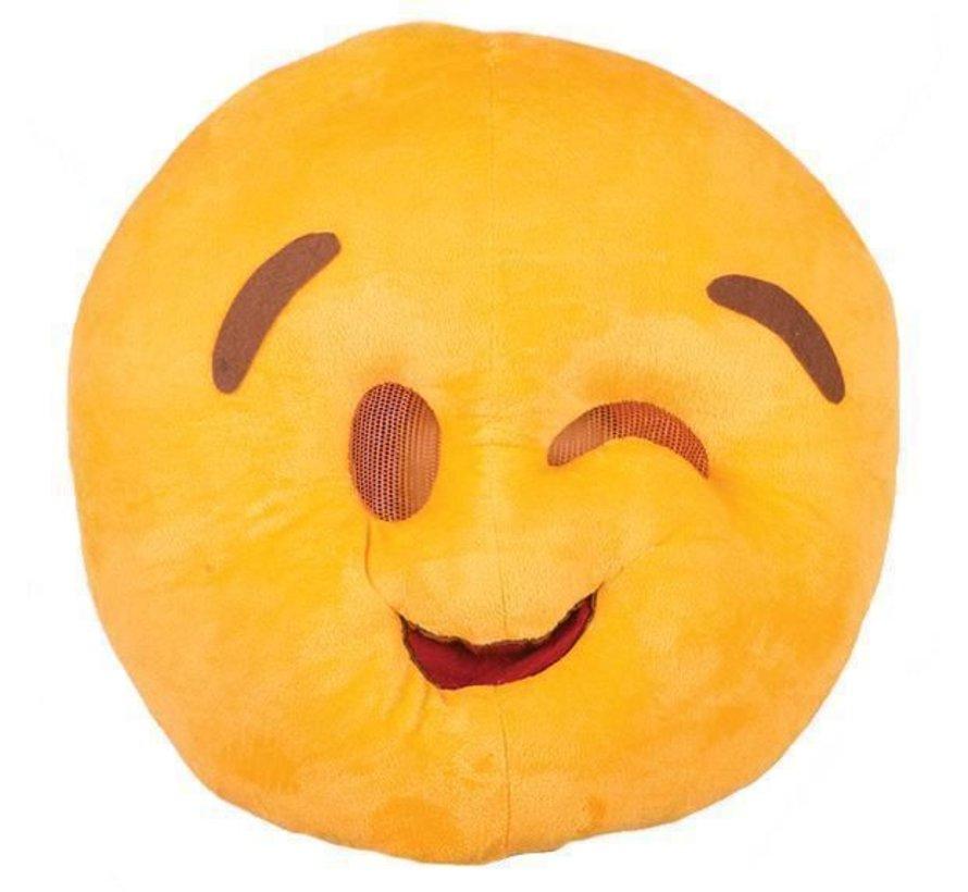 Masque Emoji Clin d'oeil