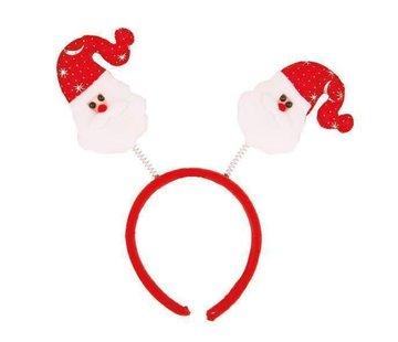 Partyline Diadeem Kerstman Bopper