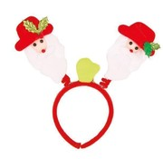 LED Diadem Santa Bopper