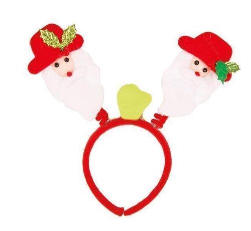 Partyline LED Diadeem Kerstman Bopper