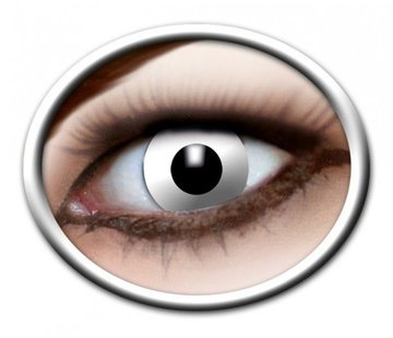 Eyecatcher White Zombie   3 month Lenses