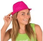 Partyline Funk Straw Hat Fuchsia | Hawai Hat