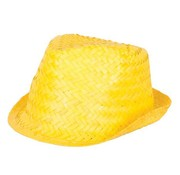 Partyline Funk Straw Hat Yellow