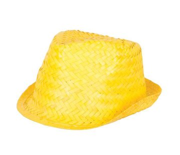 Partyline Funk Straw Hat Yellow | Hawai Hat