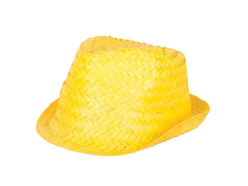 Funk Straw Hat Yellow