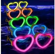 Breaklight Connecteur Lunette en forme de coeur
