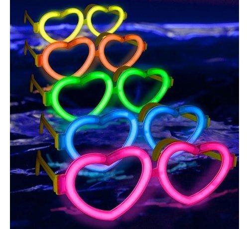 Breaklight.be Connecteur Lunette en forme de coeur