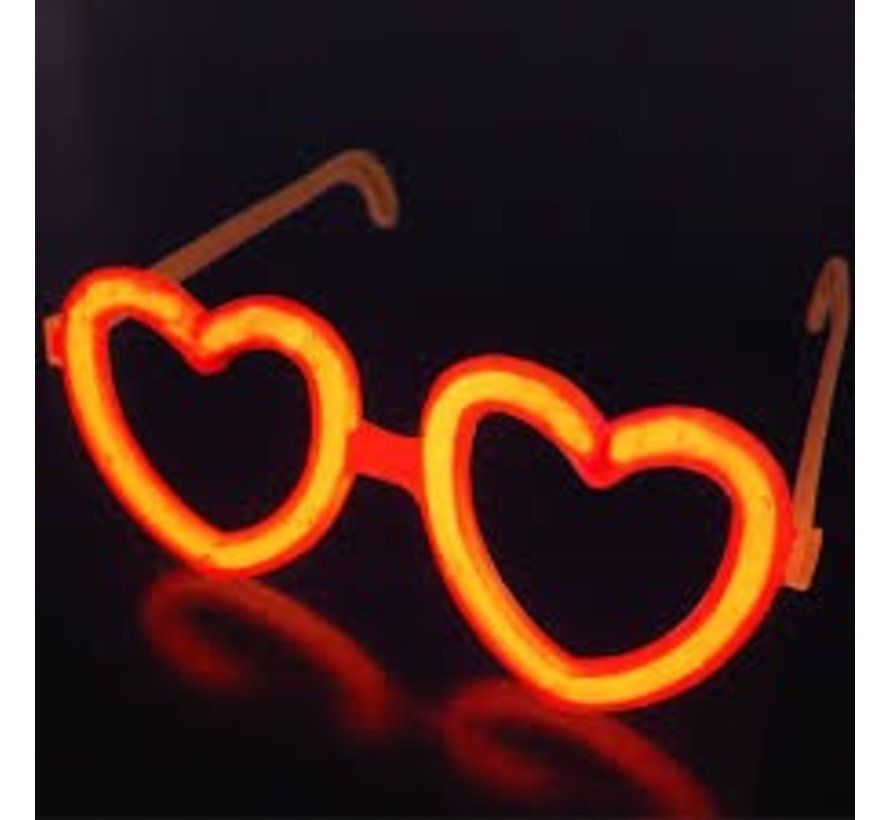 Connecteur Lunette en forme de coeur