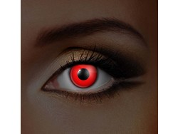 UV lentilles de couleur Rouge