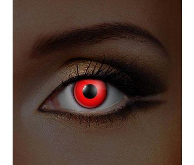 Eyecatcher UV Rode Kleurlenzen