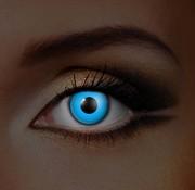 Eyecatcher UV Blauwe Kleurlenzen   Jaarlenzen