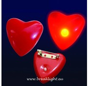 Breaklight.be Flashing Led Heart