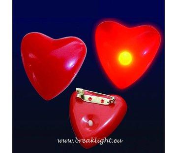 Breaklight.be Flashing Led Heart