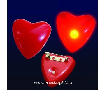 Breaklight.be Led Knipperend Hartje | Rood Led Hartje