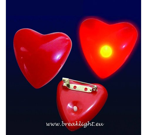 Breaklight.be Coeur clignotant Led