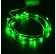 Breaklight.be HighBrite 40 Led Cord 2 m on battery - Green