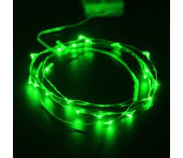 Breaklight HighBrite 40 Led Guirlande 2 m on battery - Vert