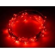 Breaklight.be HighBrite 40 Led Guirlande 2 m on battery - Rouge