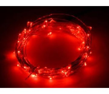Breaklight HighBrite 40 Led Cord 2 m on battery - Red