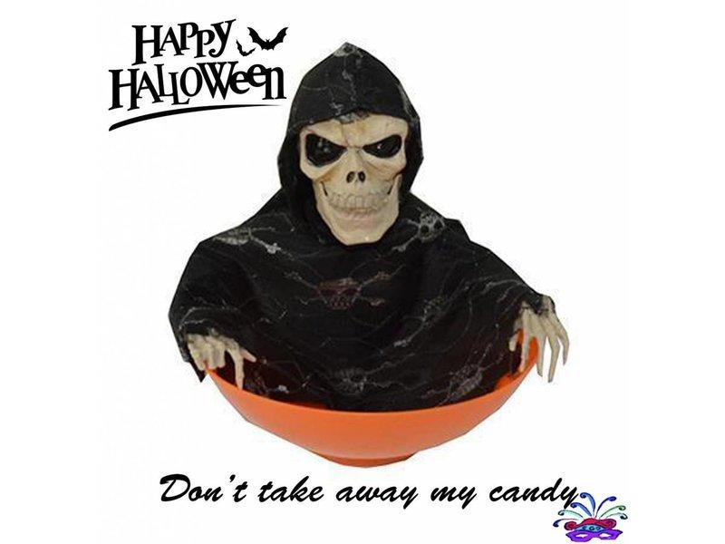 Bol à bonbons Halloween 'Ne prend pas mes bonbons'
