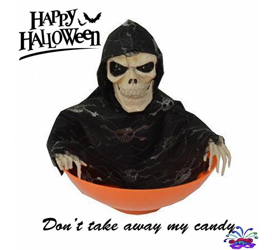 Bol à bonbons Halloween 'Ne prend pas mes bonbons