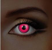 Eyecatcher UV Roze Kleurlenzen  | Maandlenzen