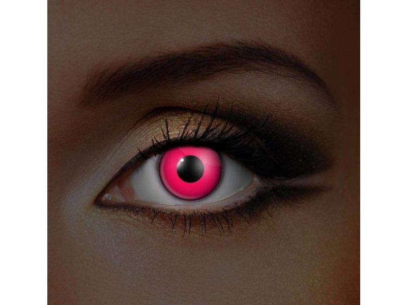 UV lentilles de couleur Rose