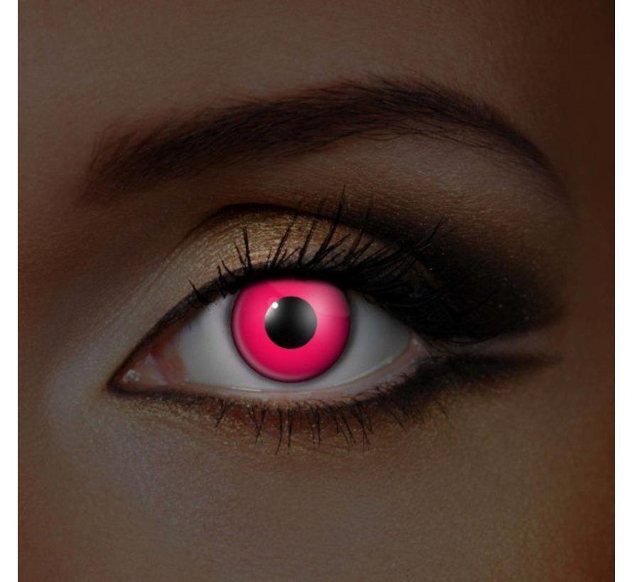 UV lentilles de couleur Rose   Lentilles Mensuelles