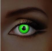 Eyecatcher UV Groene Kleurlenzen | Maandlenzen