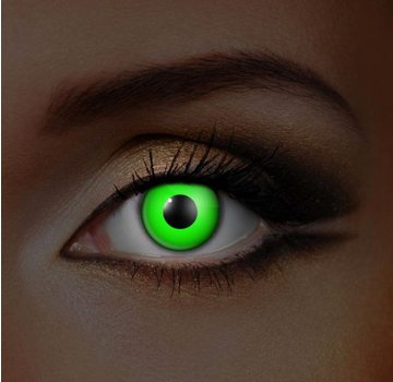 UV lentilles de couleur Green