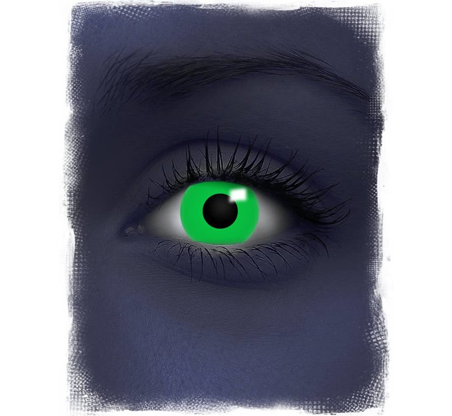 UV Groene Kleurlenzen | Maandlenzen