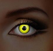 Eyecatcher UV Gele Kleurlenzen | Maandlenzen