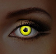 UV lentilles de couleur Jaune