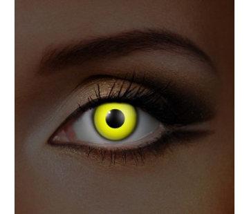 Eyecatcher UV lentilles de couleur Jaune | Lentilles Mensuelles