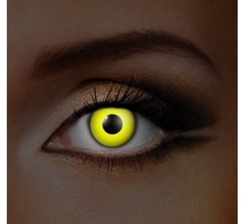 Eyecatcher UV Yellow Colorlens | Monthly lenses
