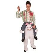 Partyline Jumpsuit Scary Rabbit