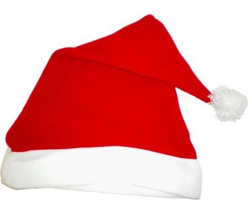 Partyline Kerstmuts 12 stuks | Rode Kerstmutsen