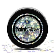 PaintGlow - Chunky Cosmetic Glitter, Mystic Mermaid, 3g