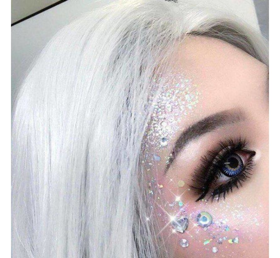 PaintGlow - Chunky Cosmetic Glitter, Helter Skelter, 3g