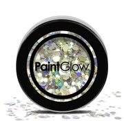 PaintGlow - Chunky Cosmetic Glitter, Disco Fever, 3g