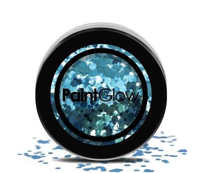 PaintGlow - Chunky Cosmetic Glitter, kaleidoscope, 3g