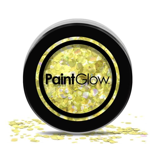 PaintGlow PaintGlow - Chunky Cosmetic Glitter, Gold Digger, 3g