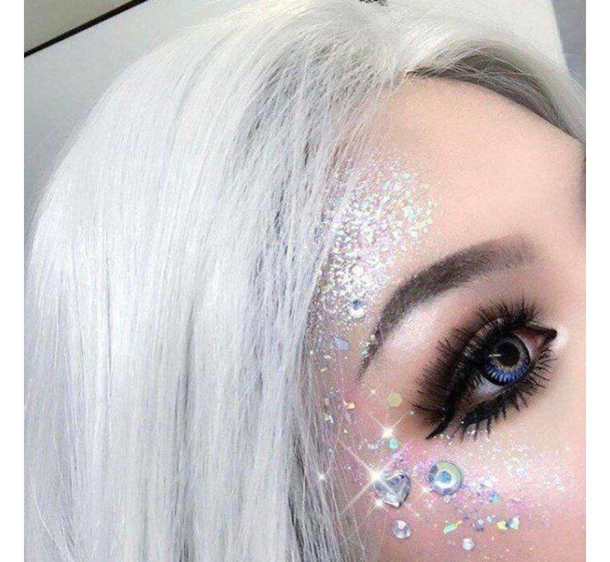 PaintGlow - Chunky Cosmetic Glitter, Heart Breaker, 3g