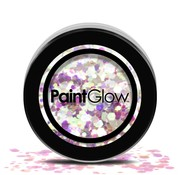 PaintGlow - Chunky Cosmetic Glitter, Unicorn Tears, 3g
