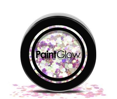 PaintGlow PaintGlow - Chunky Cosmetic Glitter, Unicorn Tears, 3g