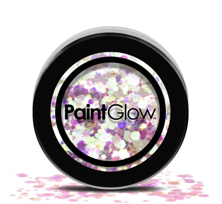 PaintGlow - Chunky Cosmetic Glitter, Unicorn Tears, 3g