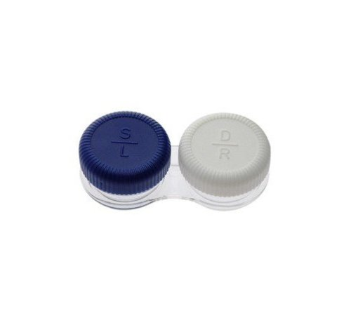 Color lenses storage for contact lenses