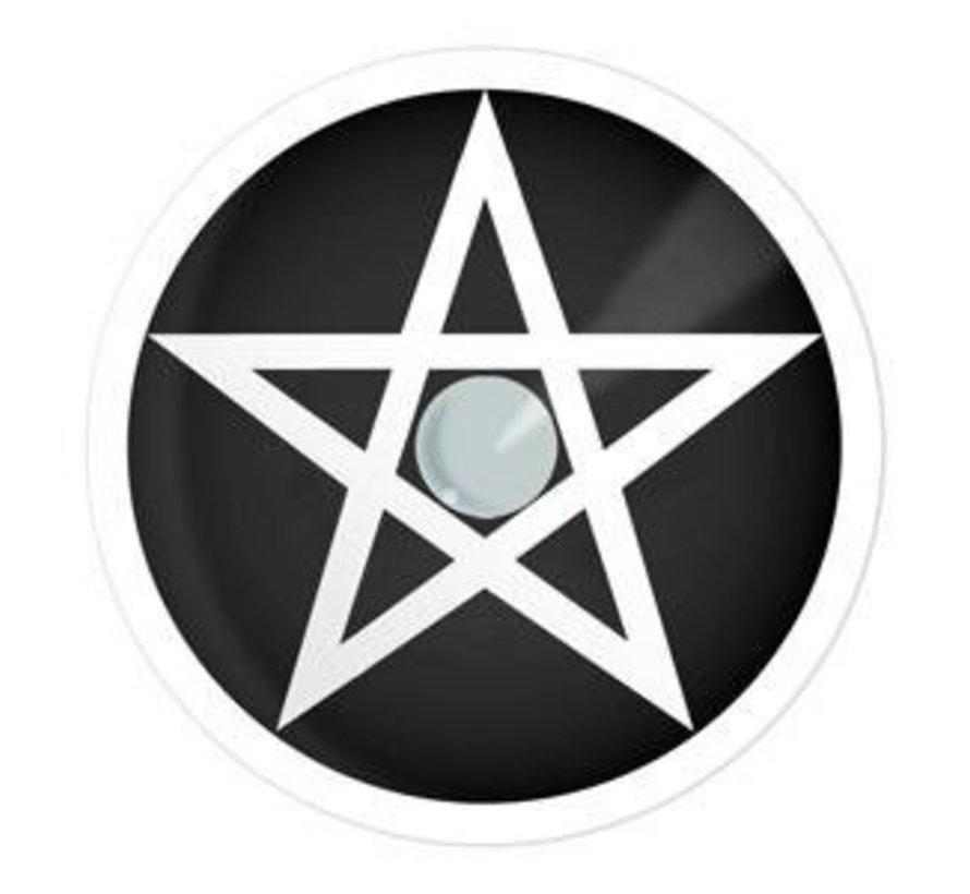 Lentilles de couleur 'Pentagram' 3 mois