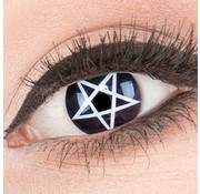 Eyecatcher Colorlenses 'Pentagram' 3 month lenses