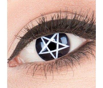 Kleurlenzen 'Pentagram' 3-maandlenzen